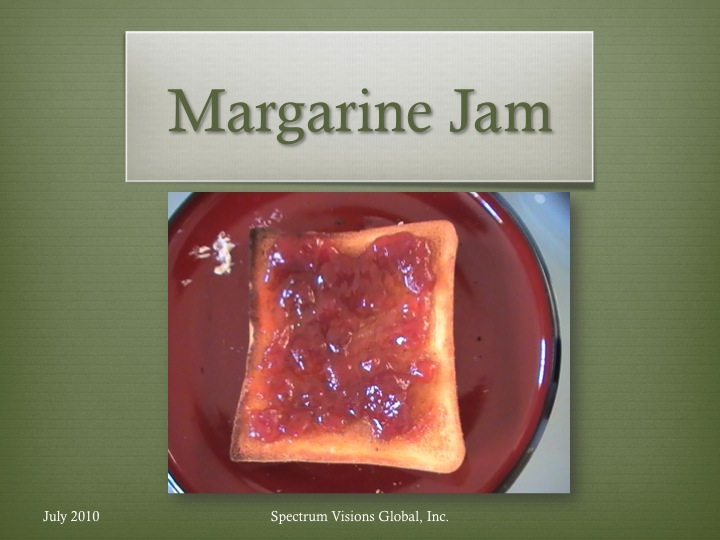 Margarine Jam Visual Recipe